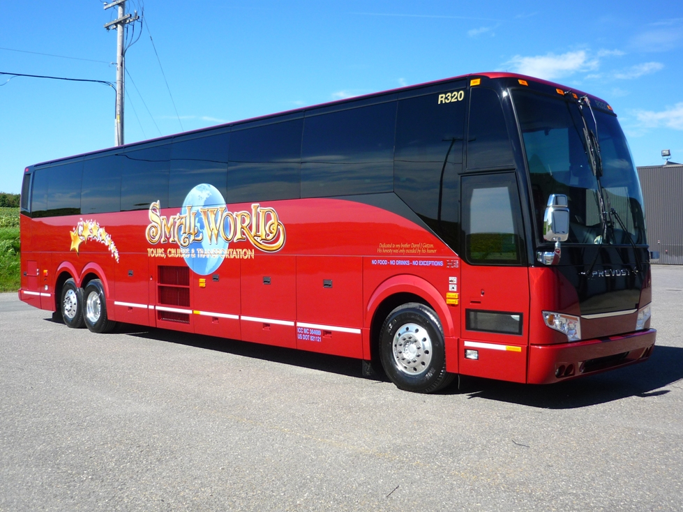 Motorcoach Services Small World Tours And Cruises Inc